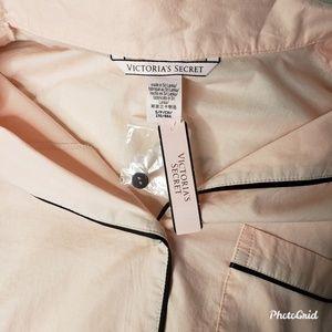 Victoria's Secret Intimates & Sleepwear - Victoria Secret Long Sleeve Pajama Button Down Top